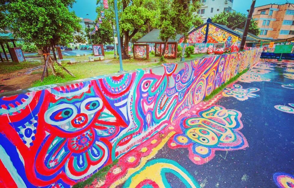 台中に行ったら訪れたいカラフルな村「彩虹眷村」とは?