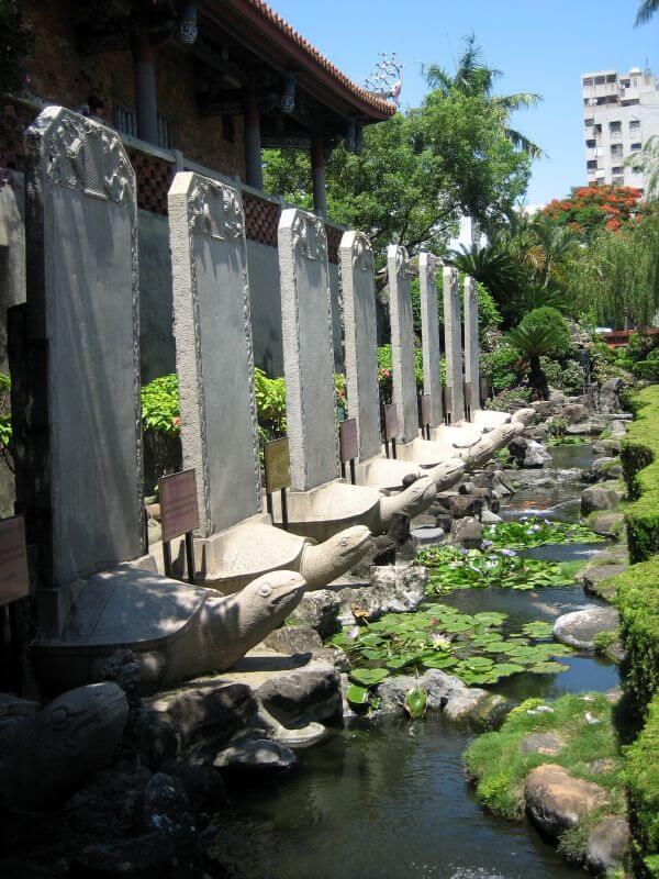赤嵌楼の入り口・庭
