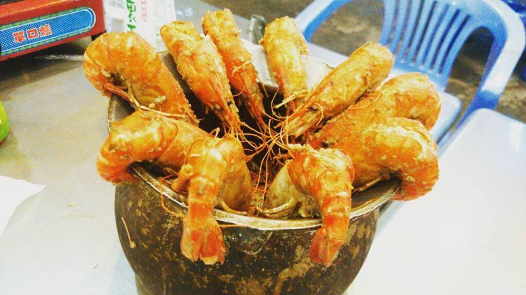 台湾の大衆娯楽 蝦釣り