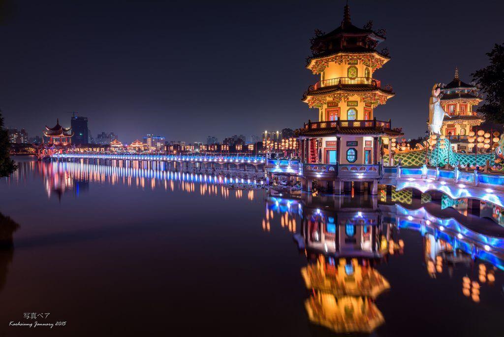 高雄 蓮池潭 観光 旅行