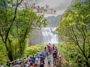 景観スポット 十分瀑布